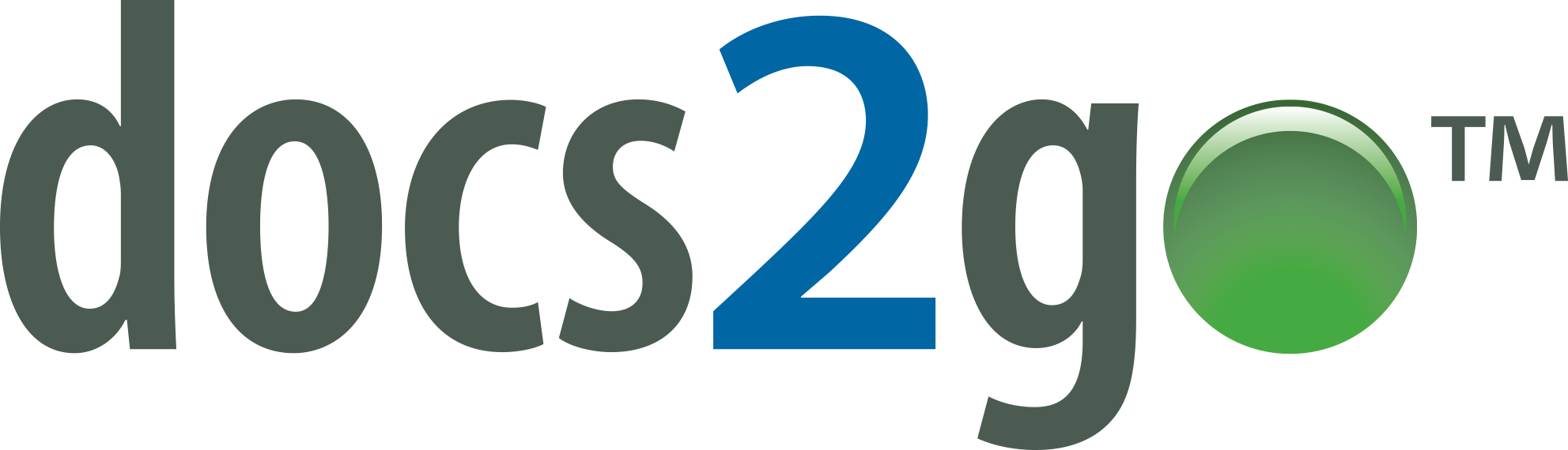 Logo for the docs2go document management product